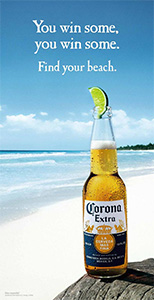 corona find your beach