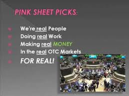 Trading Pink Sheets Penny Stocks