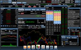 Stock option trading software