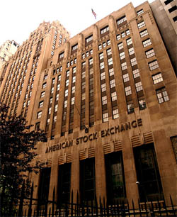 AMEX stock exchange