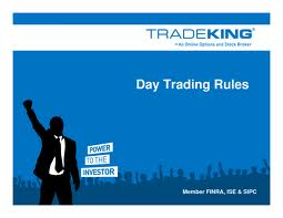 Ruling about trading options for others